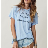 Wildfox Adventures Oversize Tee