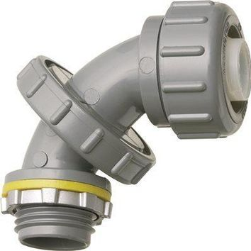 Arlington Zero To 90™ Non-metallic Connector, Liquid-tight, 3-4 In.