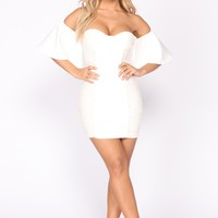 Right Things Lace Dress - Ivory