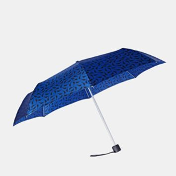 Fulton Minilite 2 Blue Bird Umbrella - Blue
