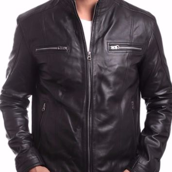 Wilsons Mens Leather Jacket - Super Sale