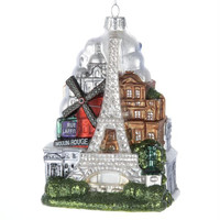 6 Christmas Ornaments - Paris, France