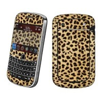 BlackBerry Bold 9900 or 9930 Vinyl Protection Decal Skin Animal Lover