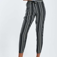 Striped Tapered Trousers - Clothing