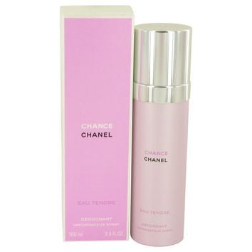 Chance Eau Tendre by Chanel Deodorant Spray 3.4 oz