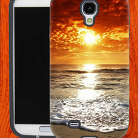 sunset beach,Accessories,Case,Cell Phone,iPhone 4/4S,iPhone 5/5S/5C,Samsung Galaxy S3,Samsung Galaxy S4,Rubber,29-11-11-Bn
