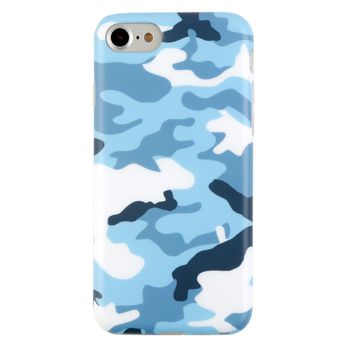 Blue Camo iPhone Case