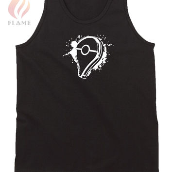 Pokemon Go Pin Splash Mens Tank Top