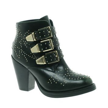 ASOS ASTRONOMY Studded Leather Ankle Boots