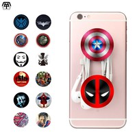 Expanding Stander Pop Finger Grip Phone Holder Socket for iPhone iPad Samxung Xiaomi Cell Mobile Phone Anti-fall Stand 12 Choose