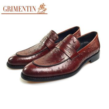 Men Flats Slip On Men Shoes Casual Genuine Leather Style Men Dress Shoes For Business