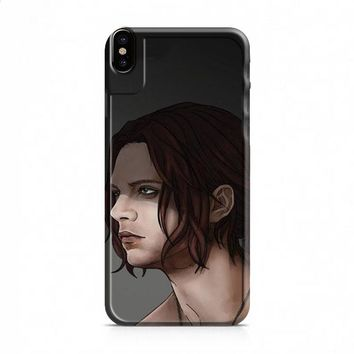 Bucky Barnes Art Civil War iPhone X case