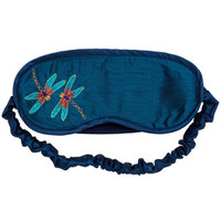 Louis C. Tiffany Dragonfly Embroidered Sleep Mask