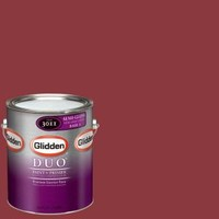 Glidden DUO, 1-gal. #GLR30-01S Red Delicious Semi-Gloss Interior Paint with Primer, GLR30-01S at The Home Depot - Mobile