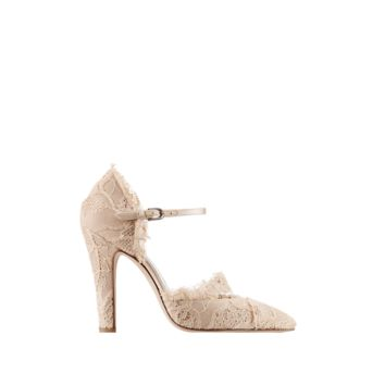 Lace pumps with 105mm heel Sold... - CHANEL
