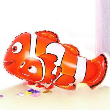 DCCKL72 18Inch Cartoon clown fish foil balloons Balloon Ball Helium Inflable Giant Balloons For Christams Decoration