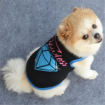 Flawless Dog Puppy Dog Jersey Costume