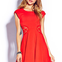Ladylike Skater Dress