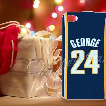 Adidas NBA Indiana Pacers 24 Paul George Jersey - for iPhone 4/4s, iPhone 5/5s/5c, Sam