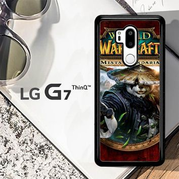 World Of Warcraft Guardian Druid Mists Of Pandaria Z0652 LG G7 ThinQ Case
