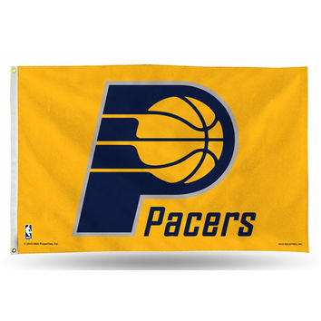 Indiana Pacers NBA 3in x 5in Banner Flag