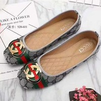 GUCCI Women Fashion Flats Shoes