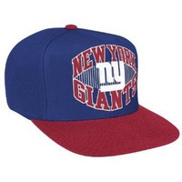 NFL Men's New York Giants Snapback Hat (New York Giants, One Size Fits All)