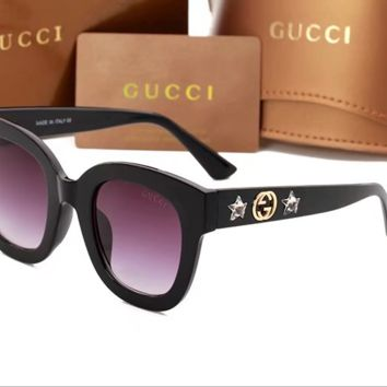 GUCCI 2018 men and women fashion elegant polarized glasses F-ANMYJ-BCYJ