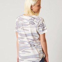 WHITE CROW CAMO T-SHIRT