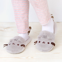 Pusheen the Cat plush slippers