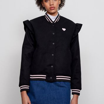 Lazy Oaf Black Weirdo Jacket - Everything - Categories - Womens