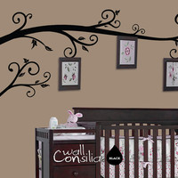 Photo Tree Wall Decal Frame Hanging Tree Wall by WallConsilia