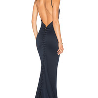 Gemeli Power Carmesi Gown in Navy | REVOLVE