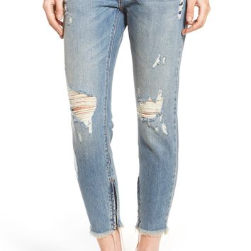 One Teaspoon Freebirds Ripped Jeans (Blue Buoy) | Nordstrom