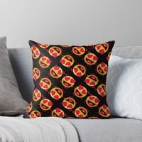 'LOVING EVERY MINUTE OF IT' Throw Pillow by IMPACTEES