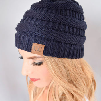 Powder Day Beanie Navy