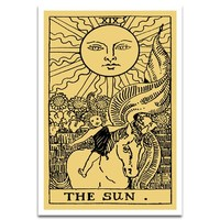'The Sun Tarot' Graphic Art Print