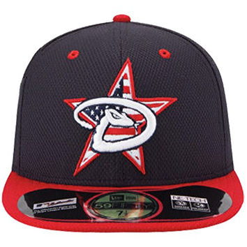 New Era 59FIFTY 2014 4th July Stars & Stripes Hat Cap 7 1/2 Arizona Diamondbacks