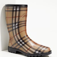 Burberry Check Print Rain Boot | Nordstrom