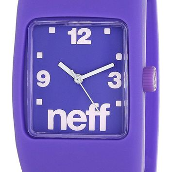 Neff Adult Purple Bandit Watch with Interchangable Face (Small/Medium)