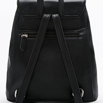 Deena & Ozzy Clean Backpack in Black - Urban Outfitters