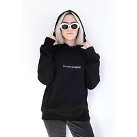 I'm Not A Rapper Unisex Pullover