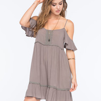 OTHERS FOLLOW Cold Shoulder Dress | Short Dresses