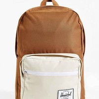 Herschel Supply Co. Pop Quiz Colorblock Backpack- Light Brown One
