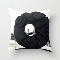 Seattle Space Needle, Fine Art Photography. Throw Pillow by Monakhalil | Society6