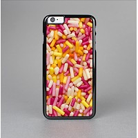 The Orange and Pink Candy Sprinkles Skin-Sert Case for the Apple iPhone 6