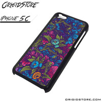 Floral Flower Purple Forest Case For Iphone 5C Case