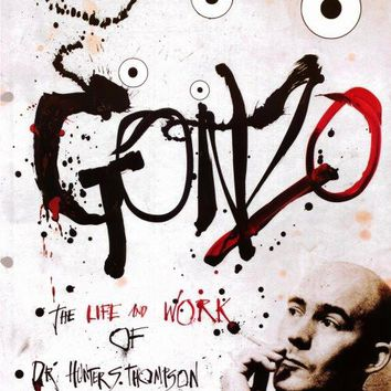 Gonzo: The Life and Work of Dr. Hunter S. Thompson 11x17 Movie Poster (2008)