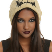 The Nightmare Before Christmas Oogie Boogie Slouch Beanie