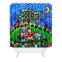 Renie Britenbucher Reading Is Magical Shower Curtain